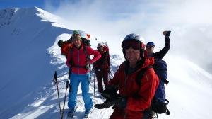 Snow safety course scores!