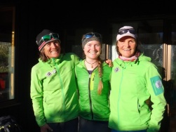 Jane with Petrouchka and I guiding in 2019